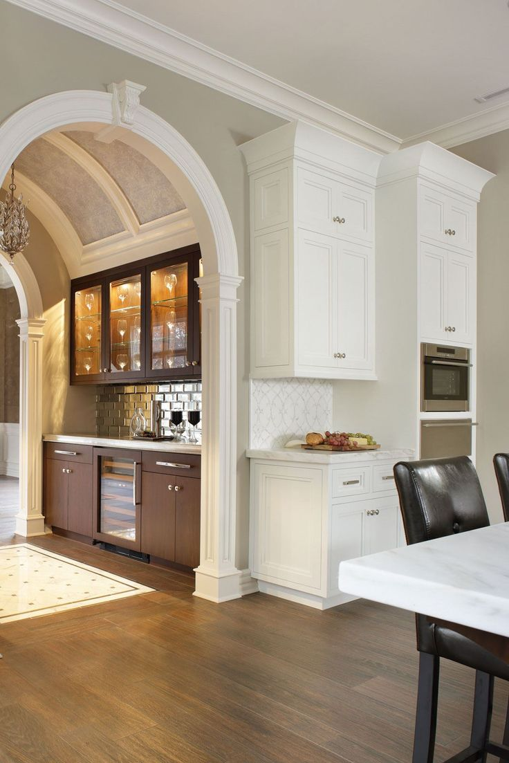105 best traditional kitchens images on pinterest kitchen dream be inspired by transitional elegance a sub zero wolf transitional kitchen design contest winner
