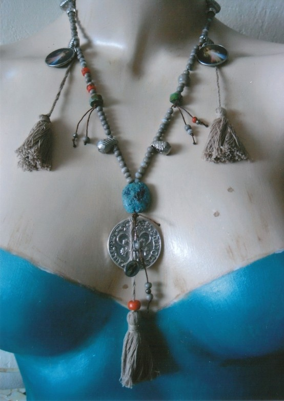 Boho necklace by RR