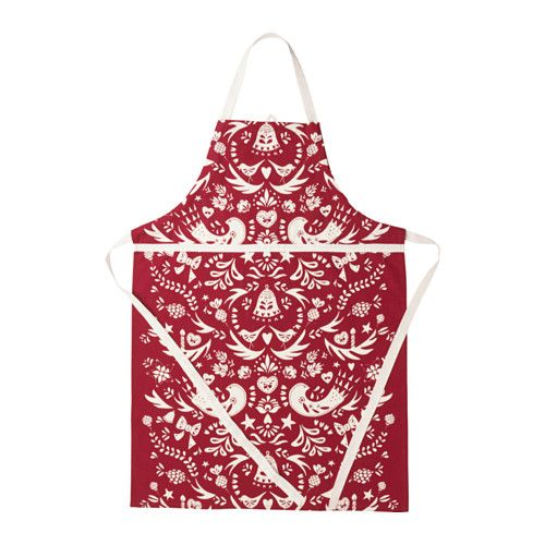 IKEA VINTER 2016 apron The neck-band can be adjusted to fit everybody.