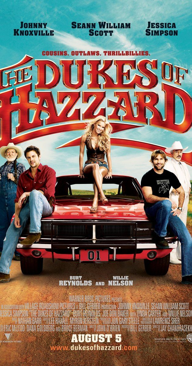 THE DUKES OF HAZZARD (2005): Cousins Bo and Luke Duke, with a little help from their cousin Daisy and Uncle Jesse, egg on the authorities of Hazzard County, Boss Hogg and Sheriff Coltrane.