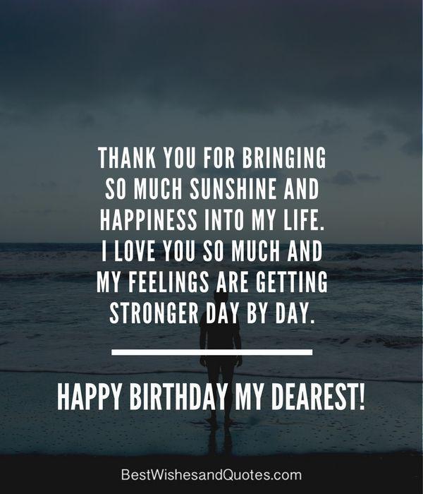 Happy Birthday Quotes For Him Romantic: 25+ Best Romantic Birthday Quotes On Pinterest