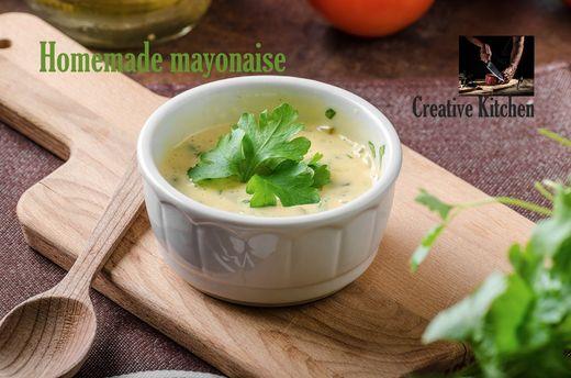 Jednoduchá domácí majonéza, krok za krokem !