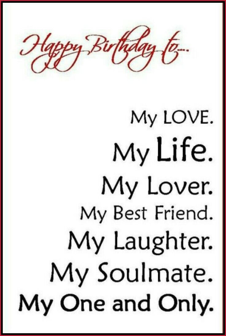 Happy Birthday Love Quotes For Her Best 25 Birthday Quotes For Him Ideas On Pinterest  Happy