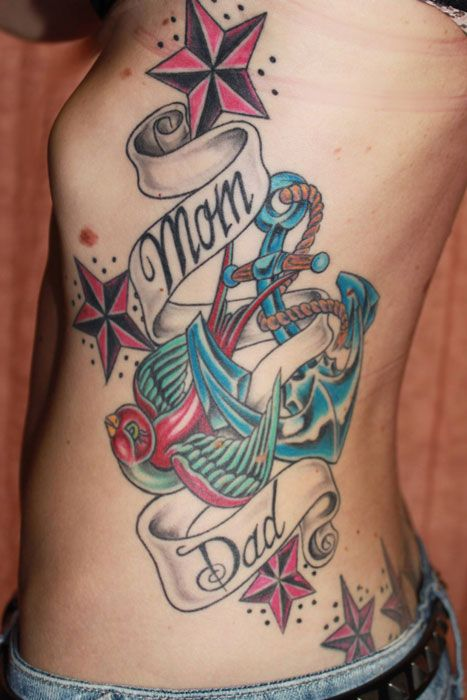 117 best images about mom and dad tattoos on pinterest traditional dads and sparrow tattoo. Black Bedroom Furniture Sets. Home Design Ideas