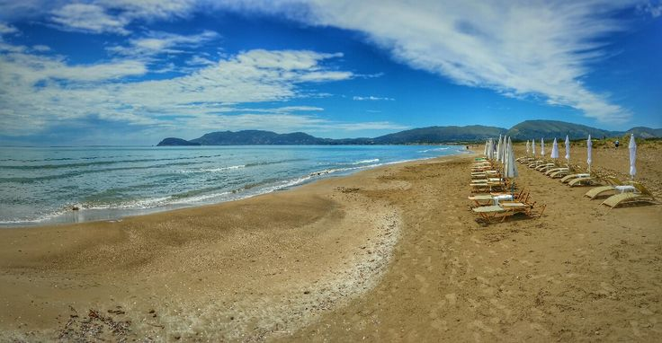 Kalamaki Beach Zante  Photography by Alistair Ford  Panorama photo taken with my Samsung Galaxy Note 3 and Shoulderpod S1 grip Edited with Snapseed 2