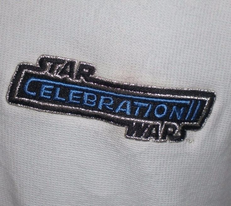Star Wars Celebration II Polo Shirt XXL White 2002 Indianapolis Convention #PortAuthority #PoloRugby