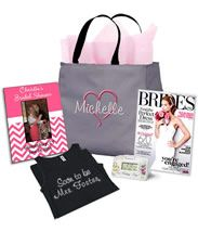 The Perfect Bridal Shower Gift Bag - Name/Heart