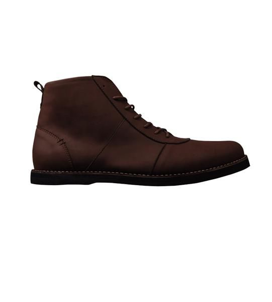 Type : Chukka Type Color : Darkbrown  Upper : Synthetic Leather Sole : Rubber…
