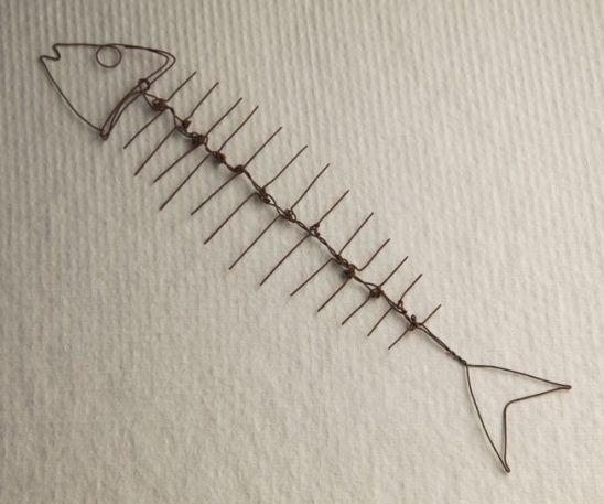 Pez de Minato Ishikawa - wire fish