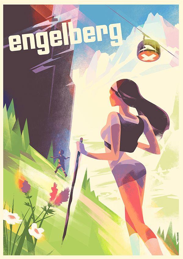 Engelberg Summer 2016 by Mads Berg