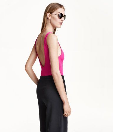 H&M Ribbed jersey body £19.99