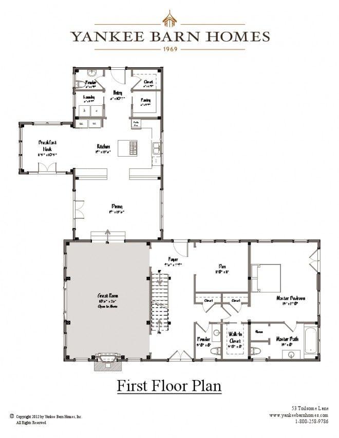 Yankee Barn Homes Floor Plans Meze Blog