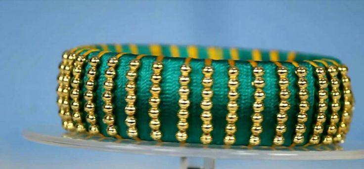Small bead bangle