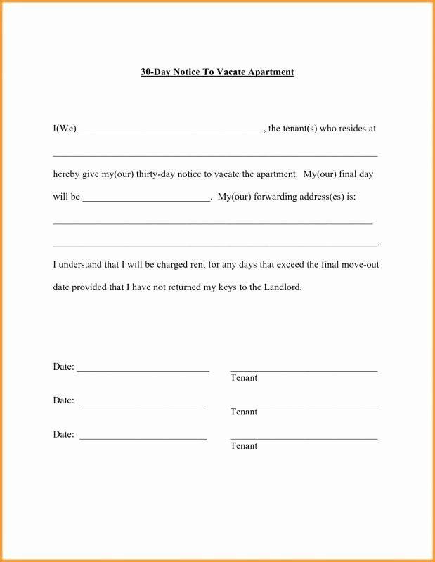 30 Day Move Out Notice To Tenant Best Of 30 Day Notice To Move In 2021 Moving Out Move Out Notice Moving