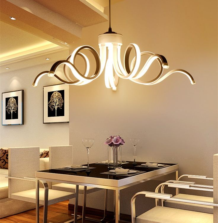 1372 best lights lighting images on pinterest electrical scandinavian style led acrylic chandelier dining room bedroom commercial places lighting decorative chandeliers ac110 aloadofball Gallery