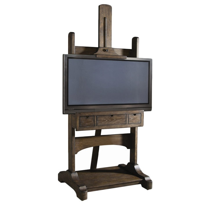 Easel Media Stand. Perfect for your Bob Ross DVD collection.