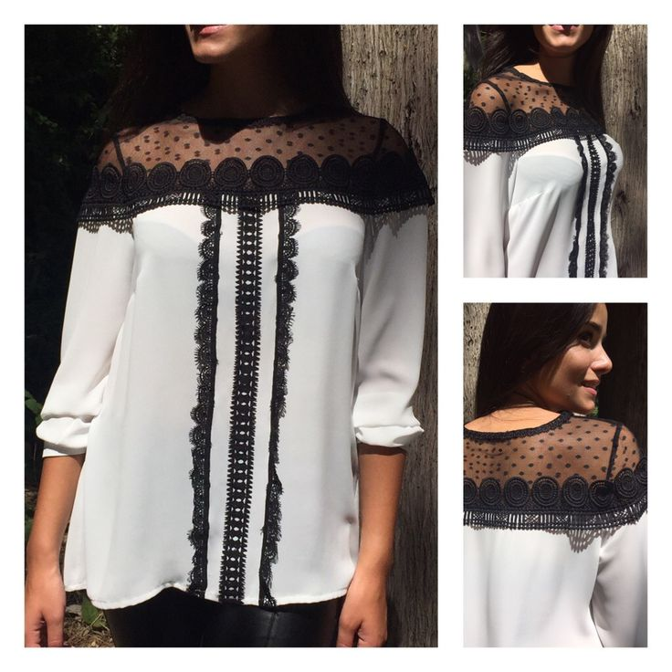 SHIRT WITH LACE PRICE:74€ SIZES:S-M-L-XL MOD:1173-2039