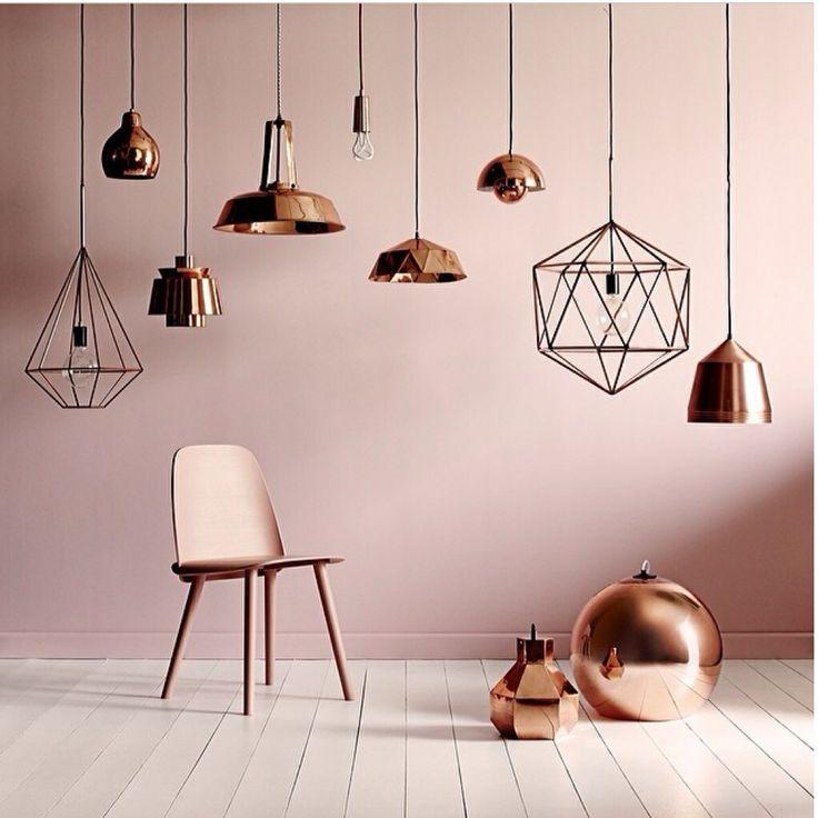 Copper lights  http://www.lightly.com.au