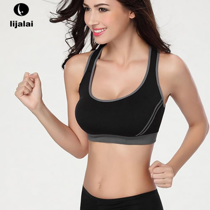 LJL Mujeres Inconsútil Atractivo Yoga Camisas Sport Bra Top Sujetador Cómodo Push up Ropa de Fitness De Yoga Deportes Sleep