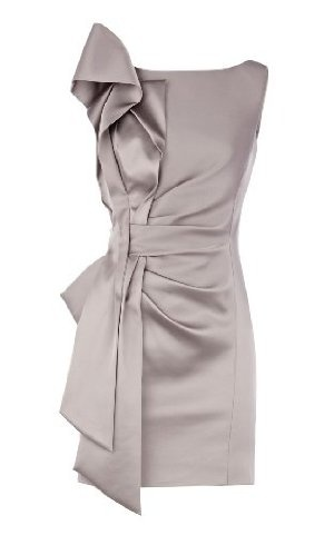 Signature Stretch Satin Dress