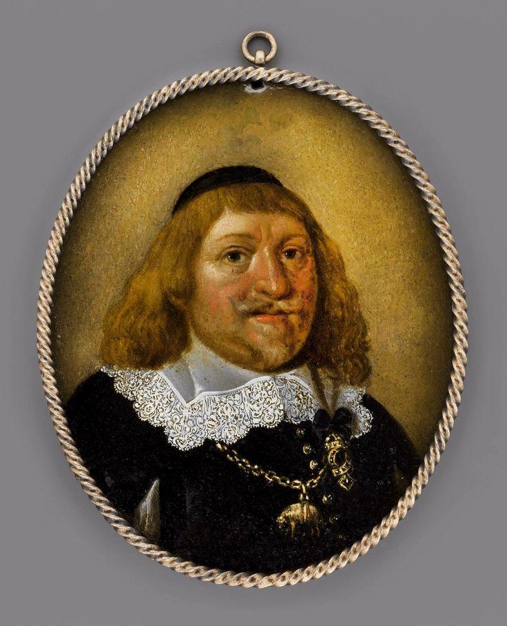 Miniature of King Ladislaus IV Vasa by circle of Peter Danckerts de Rij, ca. 1647, Muzeum Narodowe w Warszawie (MNW)