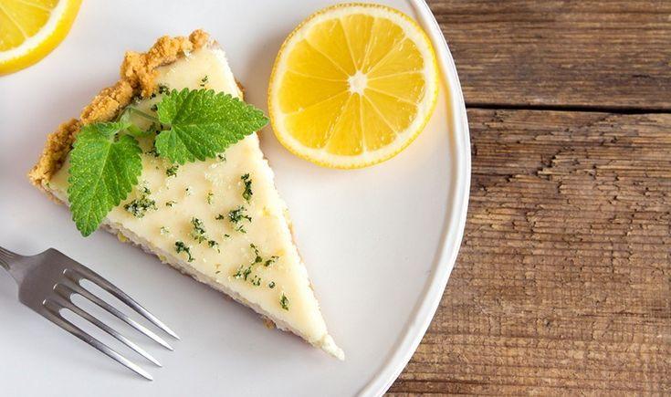 Ελαφρύ cheesecake λεμόνι