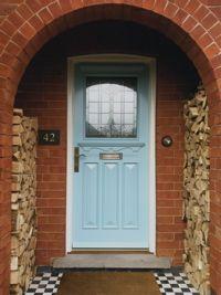 1930s style front door