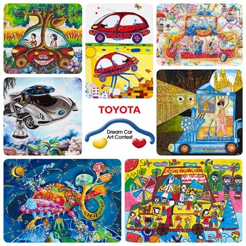 TFS 7th Annual Dream Car Art Contest. Enter to Win