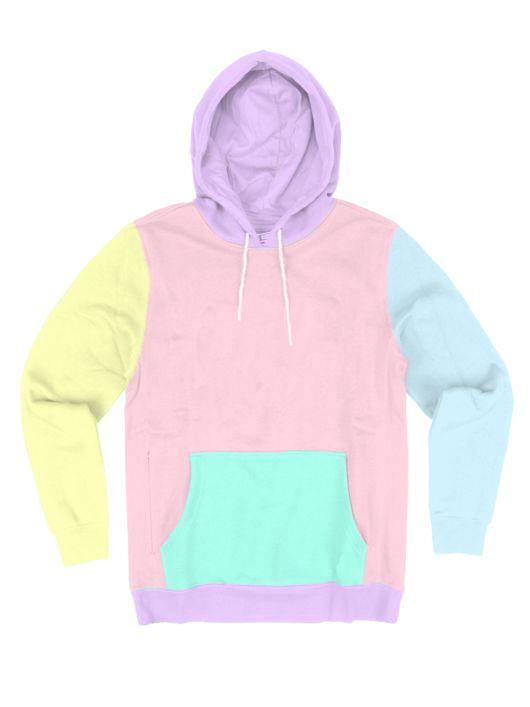Pastel Lollipop Hoodie - Public Space xyz - vaporwave aesthetic clothing fashion, kawaii, pastel, pastelgrunge, pastelwave, palewave