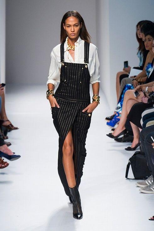 【ELLEgirl】バルマン|2014SSファッションウィークでジョアン・スモールズを大追跡
