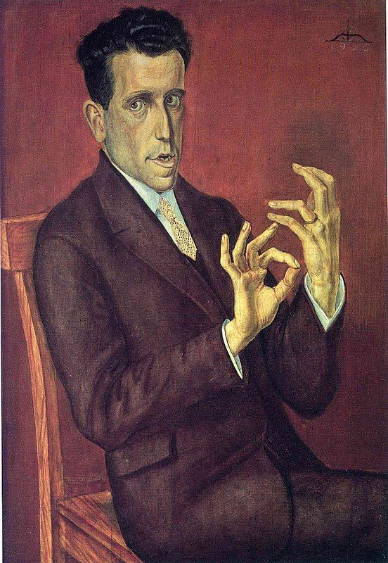 Otto Dix - I love how expressive the hands are in so many of his portraits