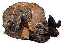 Baule Ram Masks, Ivory Coast