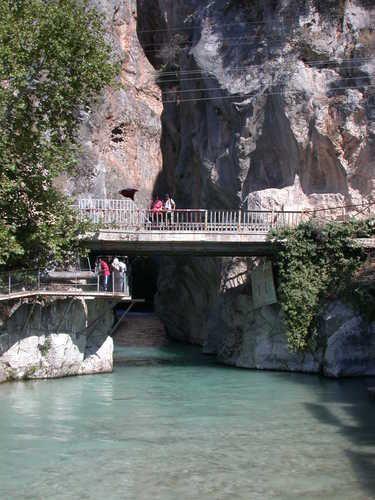 saklı kent kanyon-fethiye-canyon in saklikent - mustafa ozkan