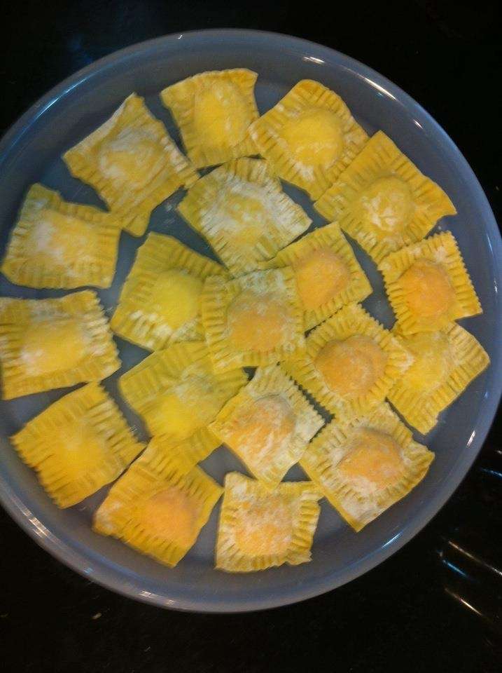 how to make ravioli pasta