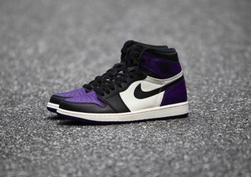 differently 1fe21 6e57c Air Jordan 1 High OG Court Purple Size 12 555088-501 ...