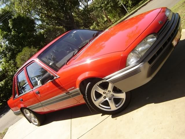 My first car was a red vl!