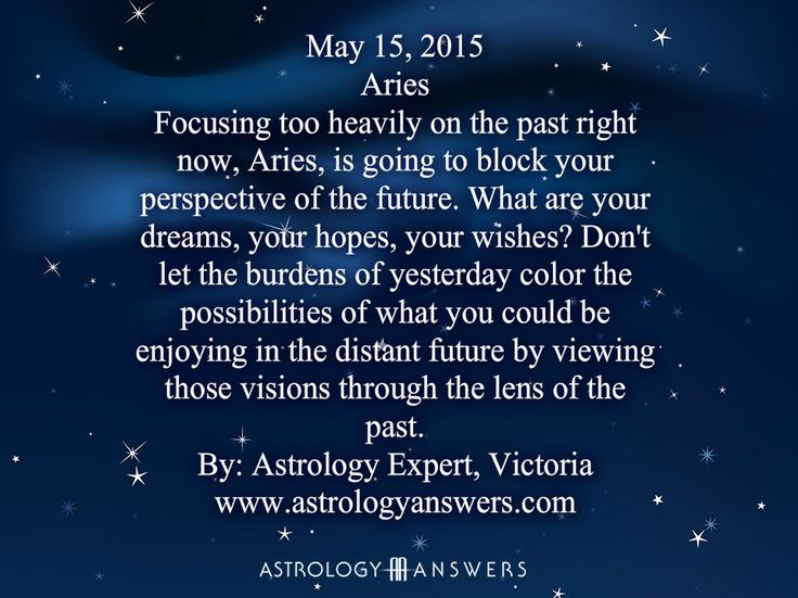 The Astrology Answers Daily Horoscope for Friday, May 15, 2015 #astrology