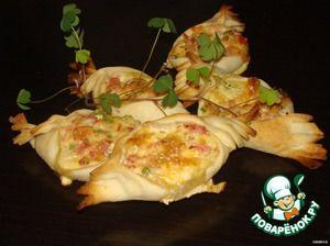 Мини-пироги со вкусом пиццы