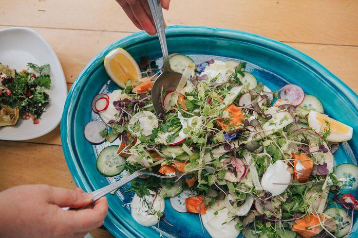 The Shack's Smoked Salmon Salad