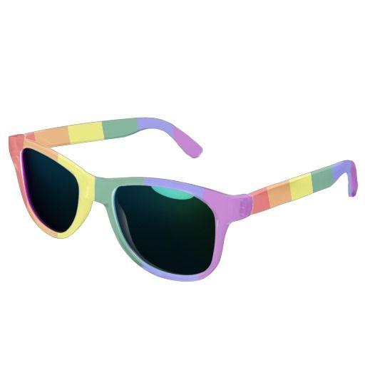 Lunettes De Soleil Gay Pride Drapeau Flag Rainbow wbTu5GCQx