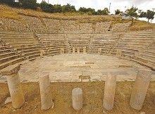 """""""Yazıtlar ve mimari veriler, Zeus Krezimos kültürünün sadece Metropolis antik kentinde var olduğunu kanıtladı"""".  Kredi: AA Photos"""