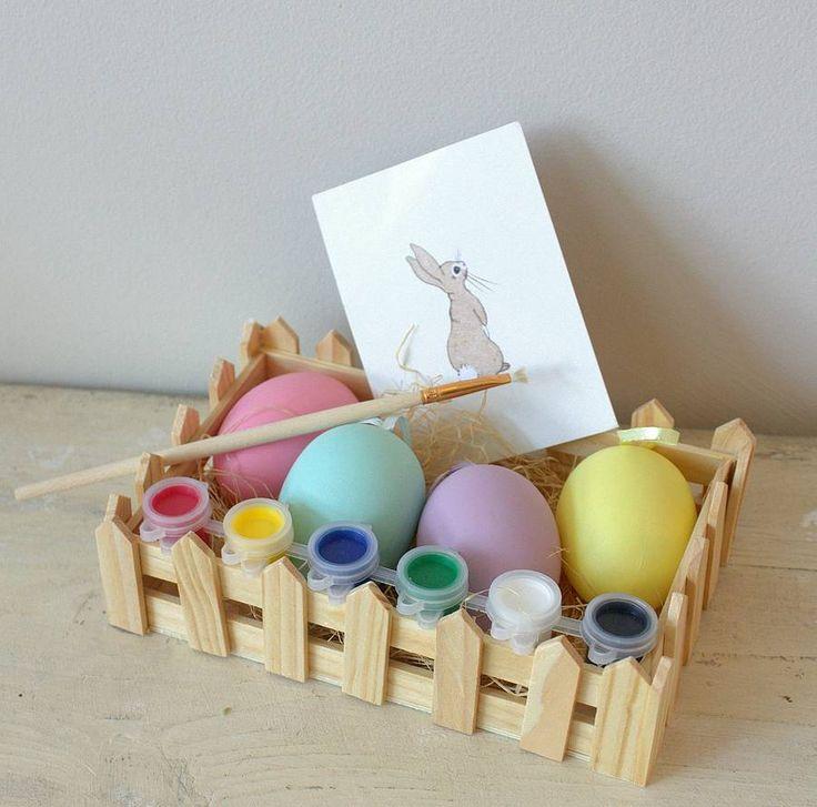 44 best easter egg alternatives images on pinterest egg paint your own easter egg kit negle Choice Image
