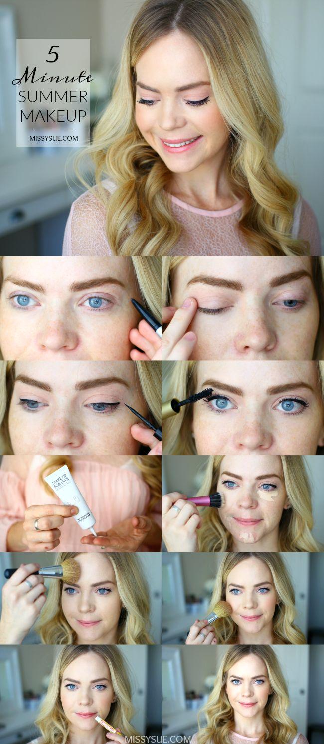 5-minute-summer-makeup-tutorial