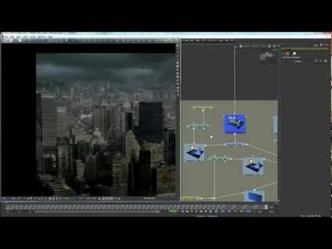 3D Compositing in Fusion 6.4: Aircraft in distress over Hudson. Part 2. - YouTube