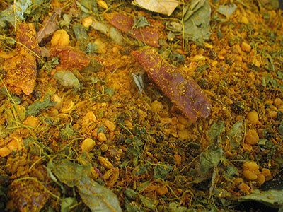 Homemade Curry Powder. This is a great recipe and when you think about it makes the most sense. With this recipe you heat a lot of the spices, especially the ones that are seeds 1st before grinding. The heating process releases the oils and makes the spices more fragrant. If you've never used curry before you'll be adding it to everything after trying this recipe.