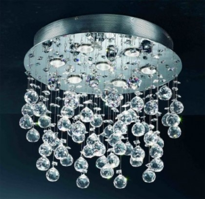 Modren Crystal Lighnting: Lights, Ideas, Lighting, Ceiling, Chandeliers, House, Bathroom, Modern Chandelier