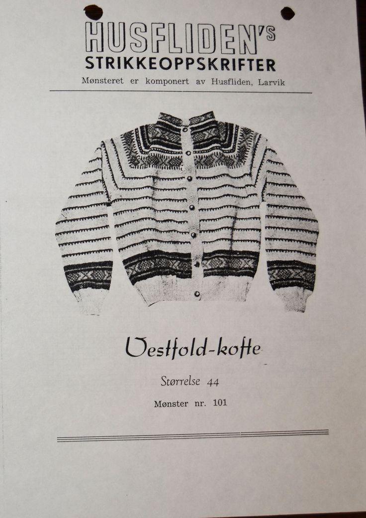 Vestfold-kofte 101