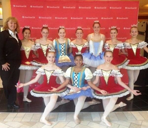 In 2014, The Fairfax Ballet Company collaborated with the American Girl store at Tysons Corner Mall in DC to help celebrate American Girl Doll of the Year, Isabelle.