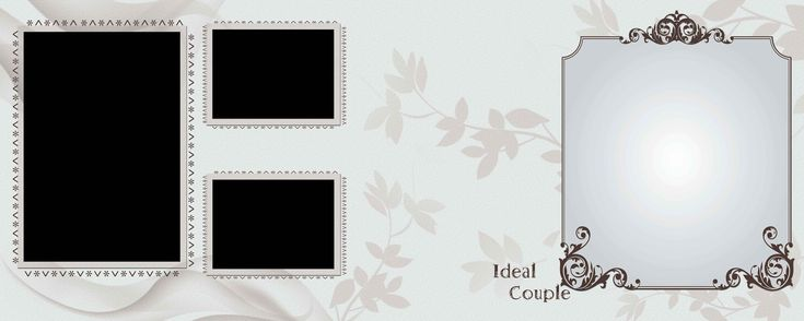 Free Download Wedding Album Psd Templates 12x36 Collection