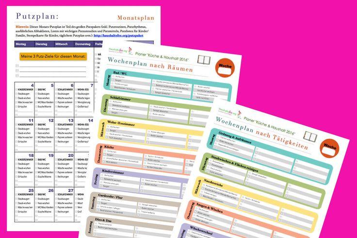 Du möchtest dich in deinem Haushalt besser organisieren? Du suchst nach einer Putzroutine? Hier findest du die passende Checkliste / Putzplan zum Download.